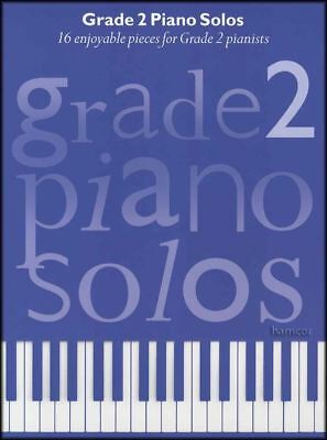 Grade 2 Piano Solos Sheet Music Book