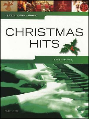 Really Easy Piano Christmas Hits Sheet Music Book