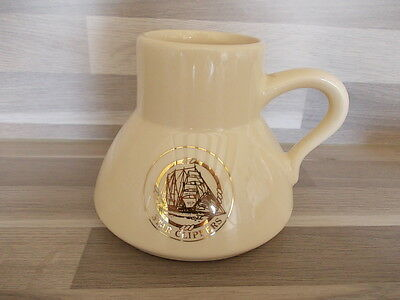 Vintage cream ceramic Star Clippers Whisky ? water jug