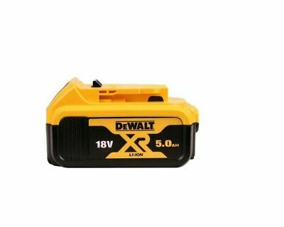 2019 NEW Genuine Dewalt DCB184-XE 18v 5.0Ah XR Li-Ion Lion Slide Battery