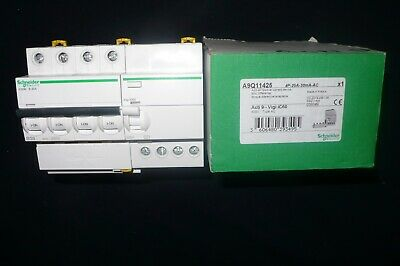 DISJONCTEUR DIFFERENTIEL TETRA 20A 30mA COURBE B SCHNEIDER ELECTRIC MERLIN GERIN