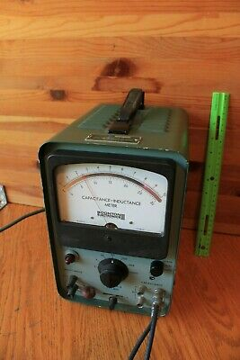 Boonton Electronics Capacitance Inductance Meter Vintage 117V 50-60 cycles