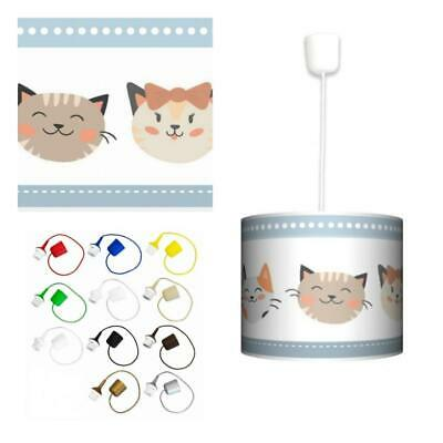 Ceiling Lampshade Lightshade/Chandeliers Cylinder Drum 30cm + Light Cable KITTY