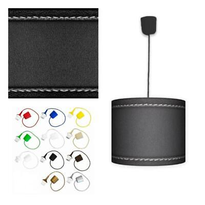 Ceiling Lampshade Lightshade/Chandeliers Cylinder Drum 30cm + Light Cable CLASSI