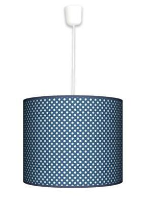 Ceiling Lampshade Lightshade/Chandeliers Cylinder Drum 40cm + Light Cable N.Dots