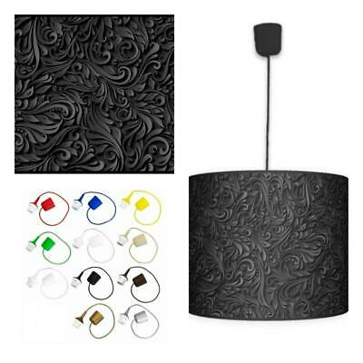 Ceiling Lampshade Lightshade/Chandeliers Cylinder Drum 40cm + Light Cable (ADORE