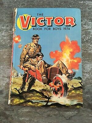 The Victor Book for Boys - 1974 vintage annual  - RARE