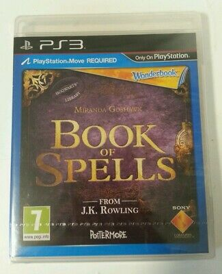 PLAYSTATION 3 - New & Sealed PS3 Book Of Spells PlayStation 3 Game Sony PAL Sony