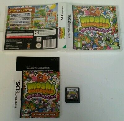NINTENDO DS - DS Moshi Monsters Moshing Zoo Game Complete Boxed Nintendo PAL UK