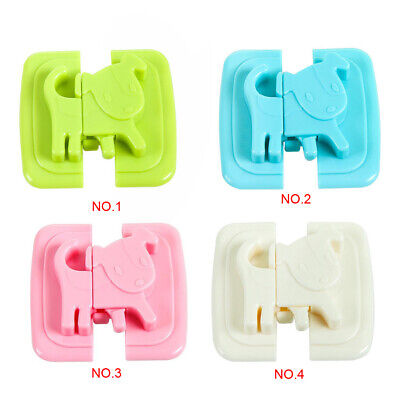 Baby Safety Cartoon Children Locks For Fridge Door Cabinet Toilet Lock