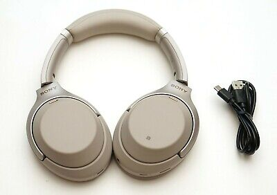 Sony Wh-1000Xm3/S Wireless Noise Cancelling Stereo Headphones Silver
