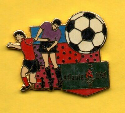 Pin's lapel pin Pins Football Foot JO ATLANTA 1996 Olympic games SOCCER EGF