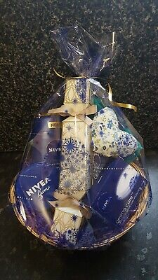 Nivea cream cracker pamper gift basket