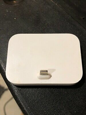 Genuine Apple iPhone Lightning Dock Charging Stand MGRM2AM/A White A1605