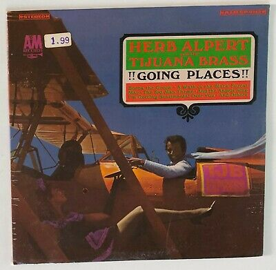 SEALED 1965 LATIN JAZZ LP / Herb Alpert & The Tijuana Brass / GOING PLACES