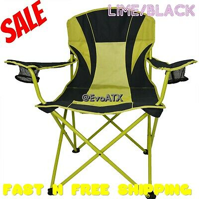 Miraculous Oversize Mesh Folding Camping Chair Ozark Trail Seat Cup Theyellowbook Wood Chair Design Ideas Theyellowbookinfo