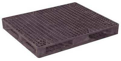 ZORO SELECT 40X48 HDSC BLK Pallet,4,000 lb.,48 In. L,40 In. W,Black