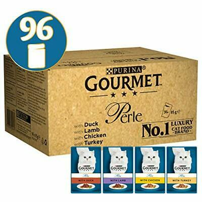 Purina Gourmet Perle húmedo Cat Food, Mini Filetes en salsa, Chef's Collection