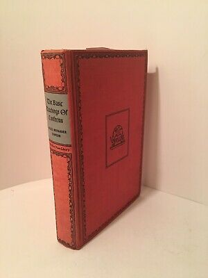 The Basic Teachings Of Confucius By Miles Menander Dawson 1942 Auction Finds 702