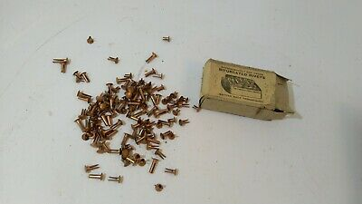 "vintage imperial birfurcated rivets copper harness belt repairs 5/16"" to 9/16"""