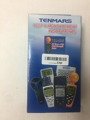 Tenmars TM-195 3-AXIS EMF RF Radiation ElectroSmog Power Meter Tester 3.5GHz