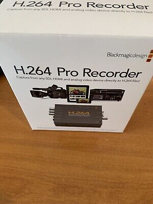 Blackmagic Design H264 Pro Recorder *with original box* Hardware Encoder