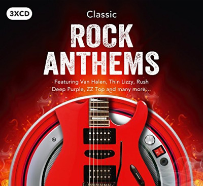 Various Artists-Classic Rock Anthems (UK IMPORT) CD NEW
