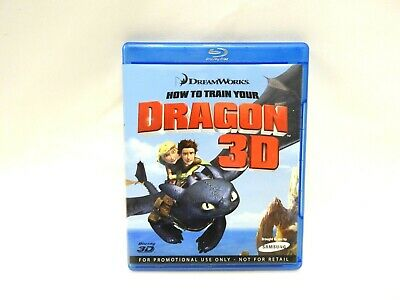 How To Train Your Dragon 3D Blu Ray Set *
