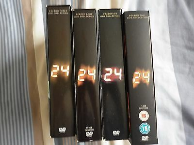24--Seasons  3 and 4 and 5 and 6   Kiefer Sutherland