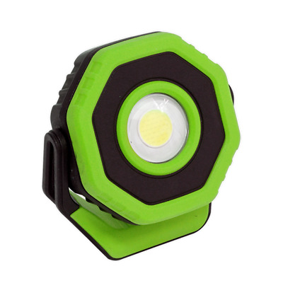 Sealey LED700P Rechargeable Pocket Floodlight with Magnet 360° 7W COB LED Green
