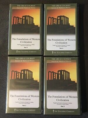 Foundations of Western Civilization The Great Courses 24 CDs