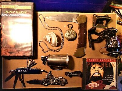 13 Item Vintage JUNK DRAWER LOT 22.5 Gram Sterling Silver Rope Chain Knives .925
