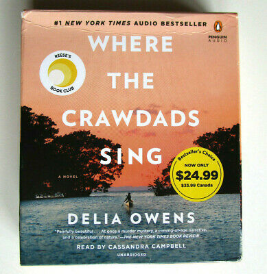 WHERE THE CRAWDADS SING - Delia Owens - 10 Audio CD'S