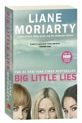 NEW Big Little Lies TV Tie-In Edition By Liane Moriarty Paperback Free Shipping