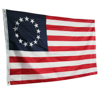 3' X 5' 3x5 Betsy Ross USA American 13 Star Flag Indoor Outdoor #OK03