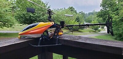 RC HELICOPTER ALIGN Trex 600e CF frame, With Funkey Air Wolf
