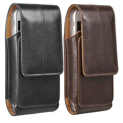 pretty nice 049b4 2f187 VERTICAL LEATHER BELT Clip Case Pouch Cover Holster for iPhone 6 6s ...