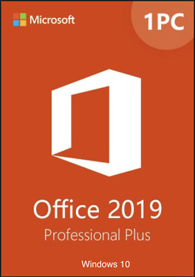 Office 2019 Professional Plus Product  Key Full Version on USB For Windows-1 PC