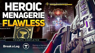 DESTINY 2 - The Menagerie - Heroic or Normal Guaranteed