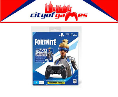 Genuine Sony PS4  Dualshock 4 Controller Fortnite Bundle Brand New