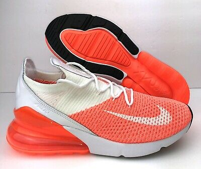 brand new 455bb 3023a NIKE AIR MAX 270 Flyknit Shoes-Black/Yellow/Crimson/White ...
