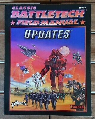 BATTLETECH 10976 - Classic Battletech Field Manual Updates