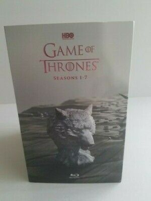Game of Thrones season 1-7 blu ray, complete set, (VG) No digital code included