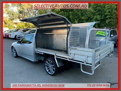 2012 Ford Falcon FG MK2 XR6T Limited Edition Silver Manual 6sp M Utility
