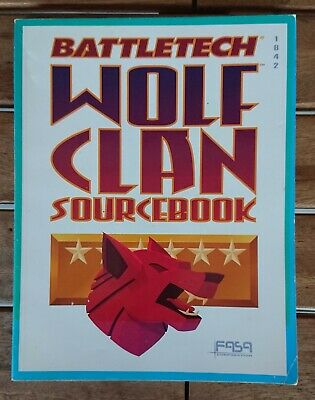 BATTLETECH 1642 - Wolf Clan Source Book