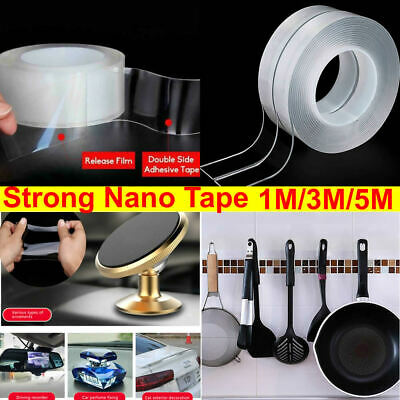 Nano Magic Double Sided Grip Tape Traceless Washable Adhesive Gel Invisible Tape