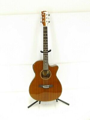 Deluxe Single Cutaway Electro Acoustic Guitar-DAMAGED- RRP £89.99