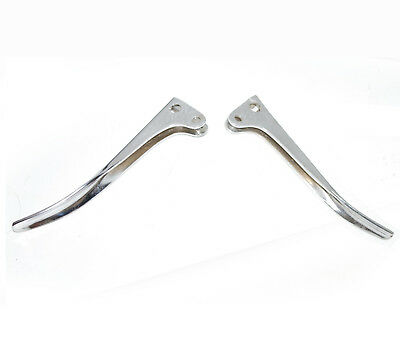 Steel Chrome Plated Brake & Clutch Lever for Royal Enfield Motorcycle CDN