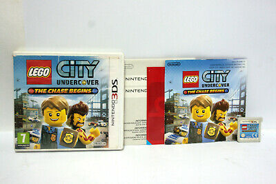Lego City Undercover The Chase Begins Gioco Nintendo 3 Ds Accettabile 64689