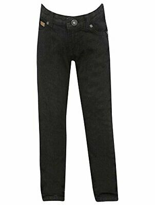 Firetrap Classic Black Denim Skinny Fit Button Up Jeans Juniors Boys 13 Years*31